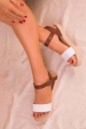 SOHO Beyaz Kadın Sandalet 14662