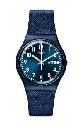 Swatch  Unisex  Lacivert Kol Saati Gn718