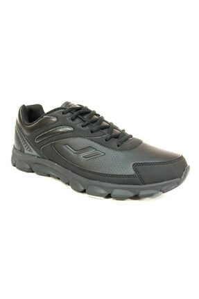 Lescon Unisex Siyah Günlük Yürüyüş Koşu Spor Ayakkabı