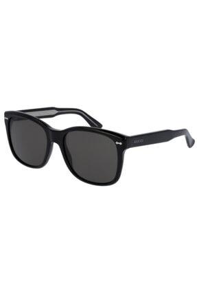 Gucci Guccı Unısex Siyah Güneş Gözlüğü