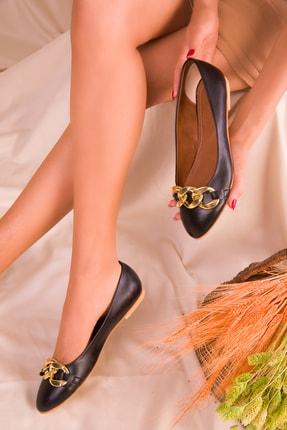 SOHO Siyah Kadın Babet 16080