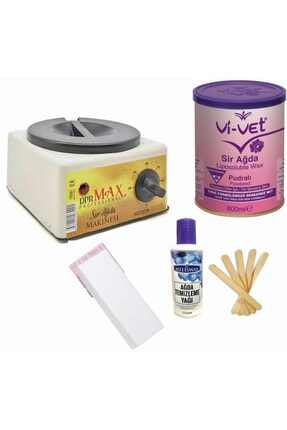 Vi-Vet Pudralı Konserve Ağda Set 800 ml