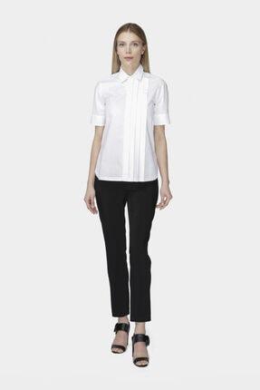 W Collection Beyaz Kısa Kollu Poplin Gömlek