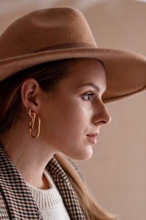 LUZDEMIA Oval Huggy Small Earring