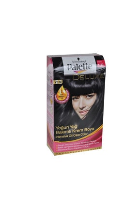 Palette Saç Boyası 1-0 Siyah