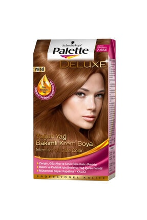 Palette Altın Karamel Saç Boyası 7-554