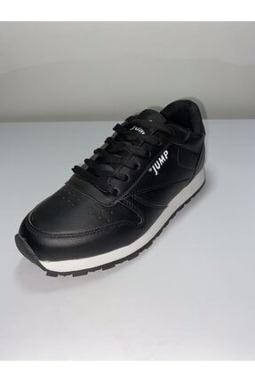 Jump Unısex Siyah Günlük Spor Ayakkabı