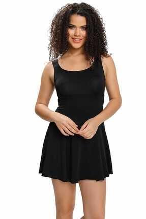 Armes Kadın Sırt Dekolteli Şortlu Elbise Mayo Armss9033-01