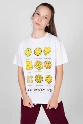 Addax Baskılı T-shirt P9451 - E5