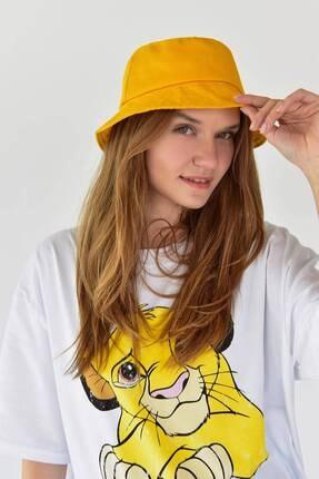 Addax Kadın Hardal Şapka Şpk507 - H13 Adx-0000021483