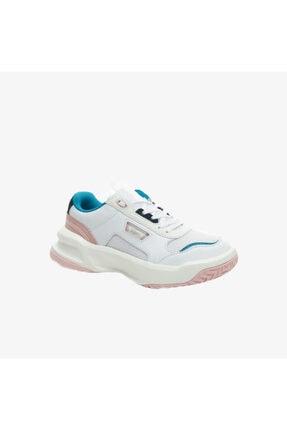 Lacoste Ace Lift 0721 2 Sfa Kadın Beyaz - Pembe Sneaker 741SFA0030