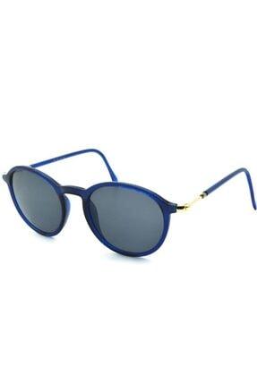 De Valentini Unisex Mavi Güneş Gözlüğü 04 C2