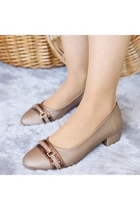 Punto Kadın Deri Mevsimlik Yumurta Topuk Ayakkabı
