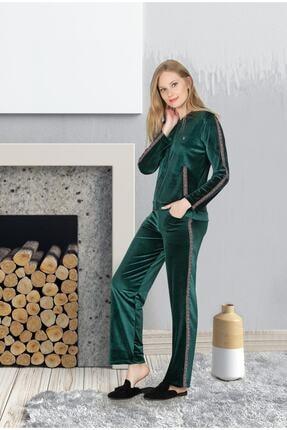 Jiber 3691 Pijama Takımı Kadife