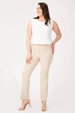 Moda İlgi Kadın Beş Cep Normal Paça Pantolon