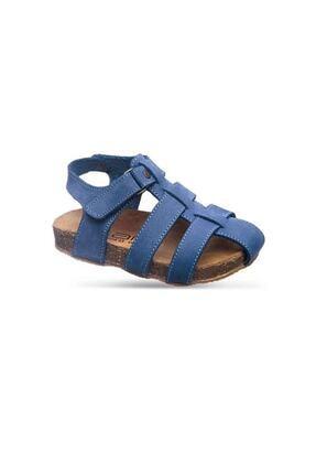 Sanbe Mantar Tabanlı Deri Ortopedik Unisex Sandalet 21 - 25