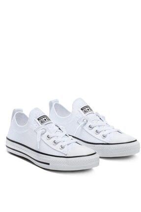 Converse Kadın Beyaz Bağcıklı Yürüyüş Ayakkabısı