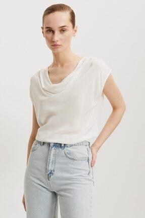 Perspective Kadın Beyaz Valerıe T-shirt 2526
