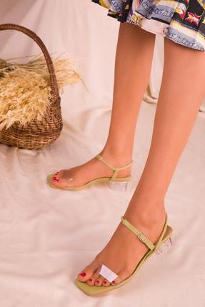 SOHO Yeşil  Kadın Klasik Topuklu Ayakkabı 15873