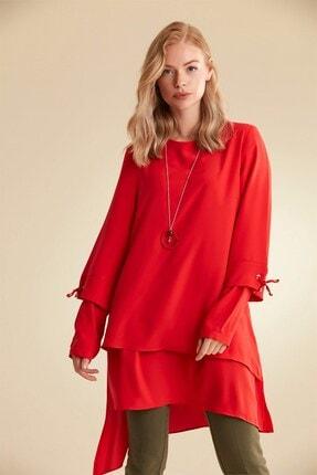 Nihan Kadın Kırmızı Tunik   B5167