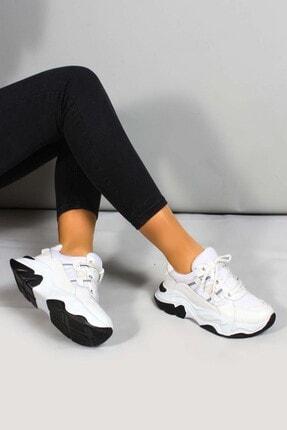 Fast Step Kadın Beyaz Sneaker Ayakkabı 698za305004