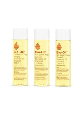 Bio Oil Cilt Lekeleri Çatlak ve Kırışıklık Karşıtı Cilt Bakım Yağı 125 ml  x3 Adet