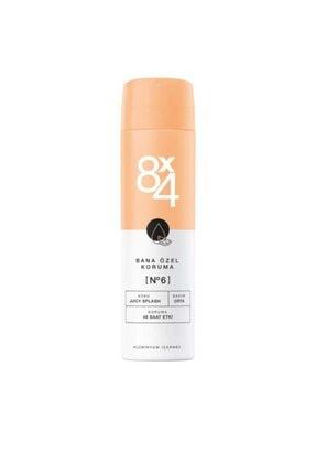 8x4 Juicy Splash Women  Deodorant Sprey 150 ml No.6