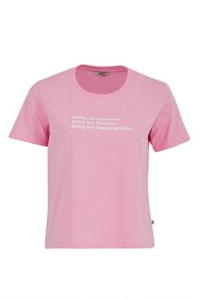 LTB Kadın PEMBE T-SHIRT  012218015761430000