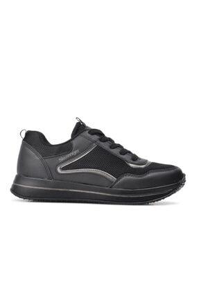 Slazenger Zenzı Siyah-siyah Kadın Spor Ayakkabı