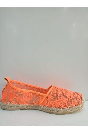 POLETTO Transparan Oranj Babet Ayakkabı