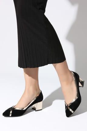 Rovigo Siyah Kadın Topuklu Ayakkabı 111181158-01