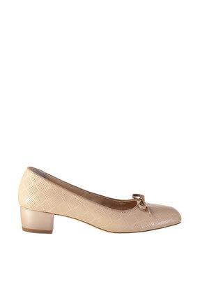 İnci Bej Kadın Topuklu Ayakkabı 120130000415