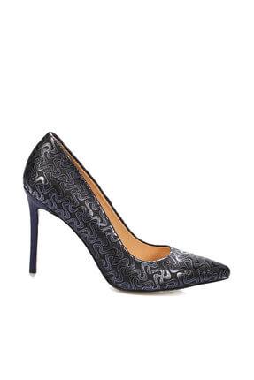 İnci Lacivert Kadın Klasik Topuklu Ayakkabı 120130009079