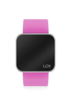 UpWatch Unisex Kol Saati 2UPWS2018170 SHINY SILVER AND PINK STRAP