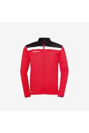 Uhlsport Unisex Kırmızı Siyah Polar Kamp Ceketi
