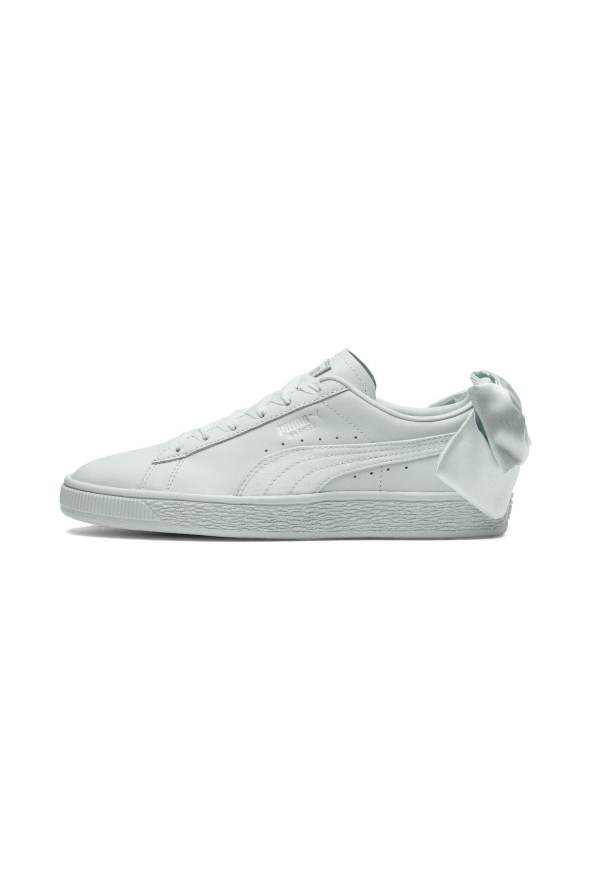 Puma BASKET BOW WN S Mavi Kadın Sneaker Ayakkabı 100462625