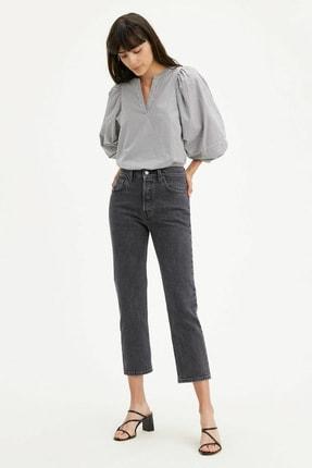 Levi's Kadın Yüksek Bel Pamuklu 501 Jeans Kot Pantolon 362000111