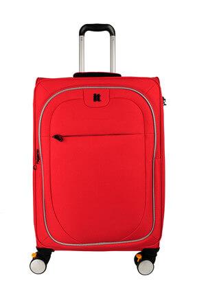 ITLUGGAGE Kırmızı Unisex Orta Boy Valiz IT2228-M