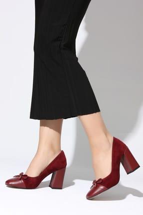 Rovigo Bordo Kadın Topuklu Ayakkabı 11112014187-1-05