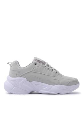 Slazenger Italy Sneaker Kadın Ayakkabı Gri