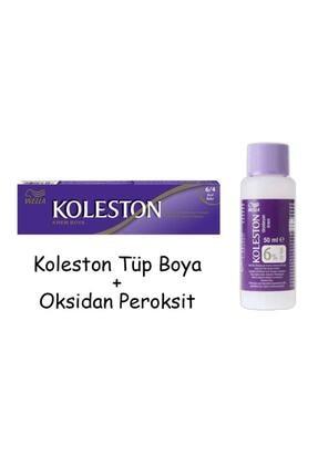 Koleston Tüp Boya 60 Ml - 6.4 Kızıl Bakır + 20 Vol Oksidan Peroksit