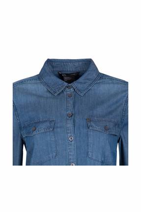 Armani Kadın İndigo Gömlek 8Nyc03 Y1Akz 1500