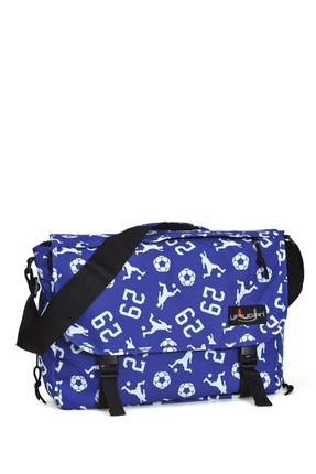 Yaygan Mavi Unisex Postacı Çanta /