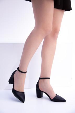 Fox Siyah Kadın Topuklu Ayakkabı D922676709