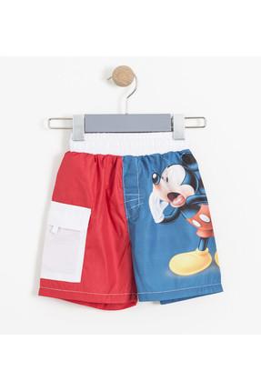 Soobe Disney Mickey Mouse Erkek Çocuk Şort Mayo Multi   SBAECSRT1085_18-3949
