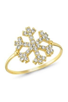 Altın Sepeti Kar Tanesi Altın Yüzük
