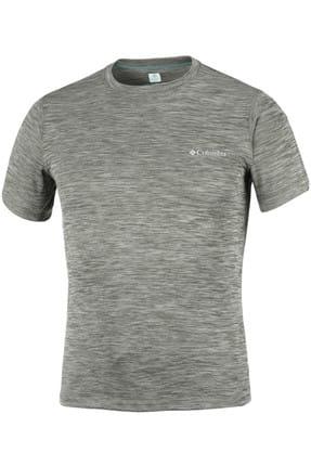 Columbia Unisex Am6084 Zero Rules Sleeve Erkek T-Shirt Yeşil