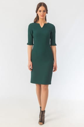 Naramaxx Kadın Yeşil Elbise 16K11112Y693