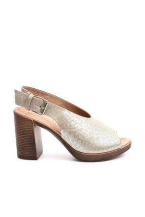 Greyder Kadın Vızon Sımlı Klasik Topuklu Ayakkabı 9Y2TS53548