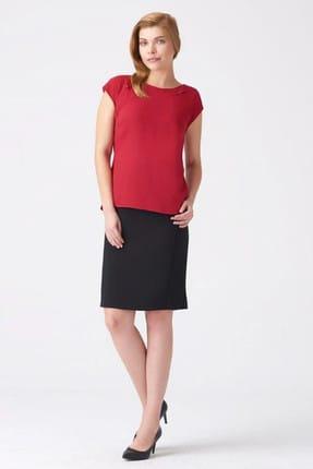 Naramaxx Kadın Koyu Kırmızı Bluz 17K11118Y946